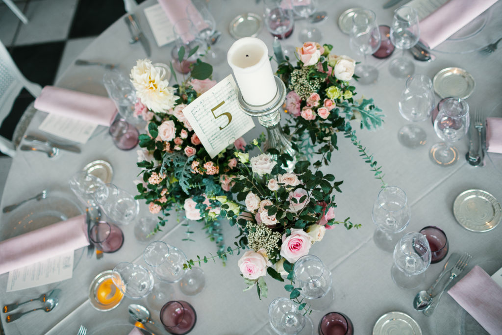 wedding tablescape design