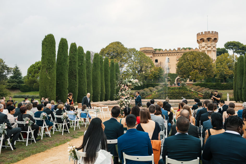 barcelona castle wedding