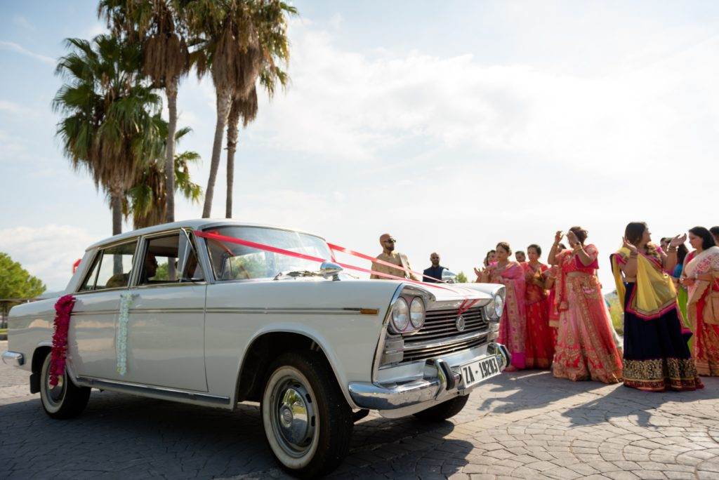 Sitges Indian wedding