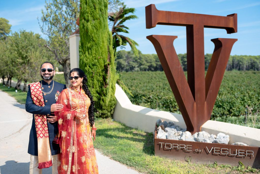luxury indian wedding in spain
