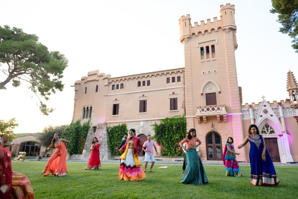 spanish indian wedding